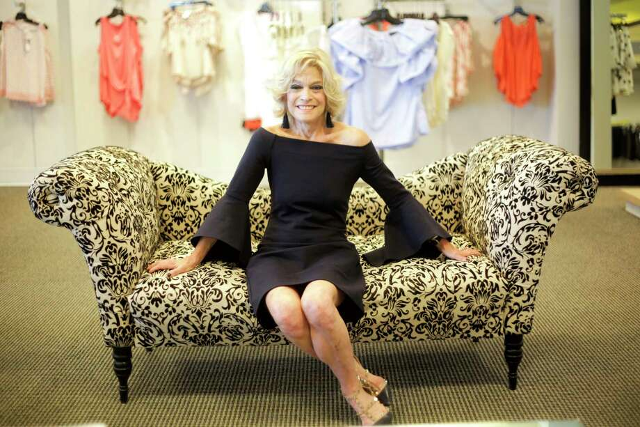 """Sherry Levy owns Dimensions Boutique on Westheimer. """"We have to keep it fresh,"""" she says of regularly bringing in new pieces for customers. Photo: Elizabeth Conley, Staff / © 2017 Houston Chronicle"""