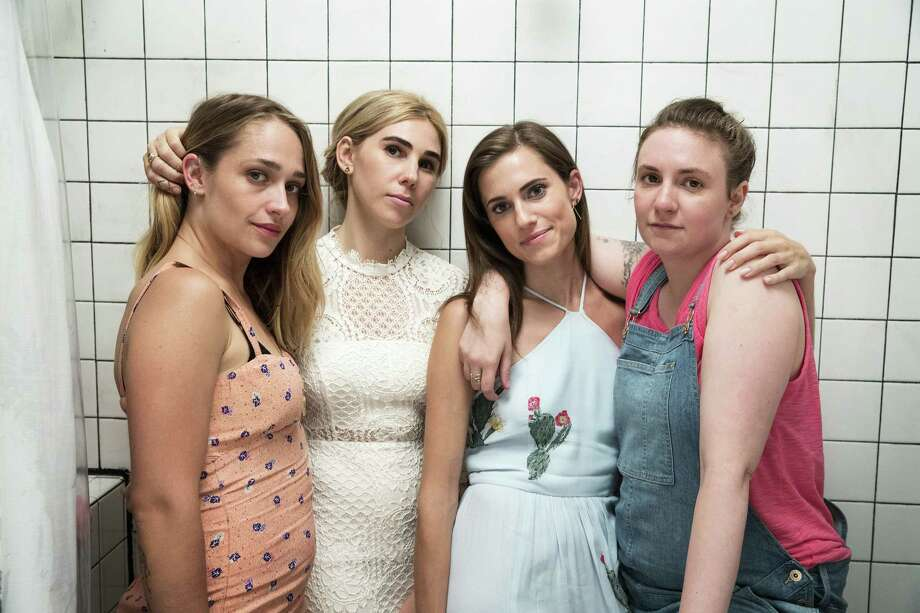 "Jemima Kirke, from left, Zosia Mamet, Allison Williams and Lena Dunham of ""Girls"" were never meant to speak for all millennials. Photo: Mark Schafer - HBO / The Washington Post"