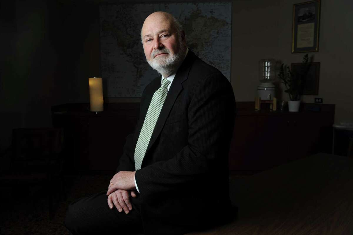 Rob Reiner poses for a photo at the Commonwealth Club in San Francisco on Friday, February 1, 2013