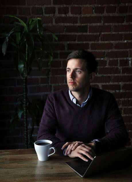 Andrew McMahon, co-founder of 18F, sits for a portrait in Covo, a co-working space April 3, 2017 in San Francisco, Calif. Photo: Leah Millis, The Chronicle