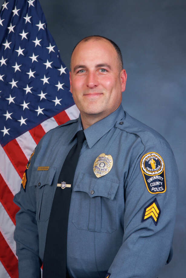 A handout photo of Sgt. Michael Bongiovanni of the Gwinnett County Police Department, in Lawrenceville, Ga. Bongiovanni has been fired after videos showed him and another officer separately punching a motorist in the face and then kicking him in the head as he lay on the ground in handcuffs during a traffic stop, officials said. (Gwinnett County Police Department via The New York Times) -- FOR EDITORIAL USE ONLY -- Photo: GWINNETT COUNTY POLICE DEPARTMEN, HO / GWINNETT COUNTY POLICE DEPARTMEN