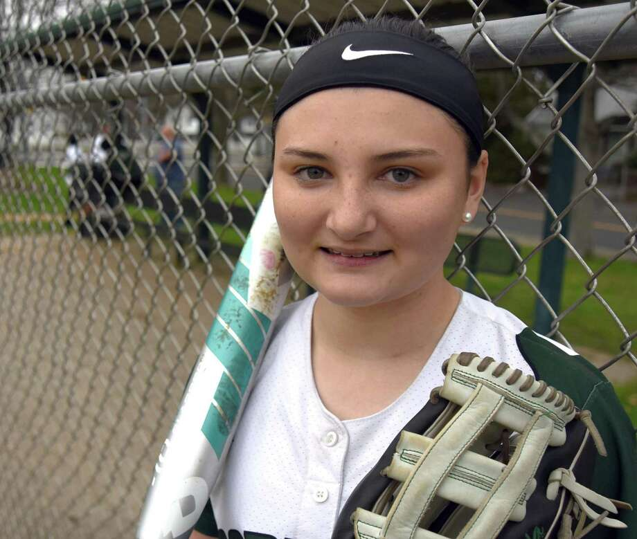 Skyler Suda, a junior at Norwalk High, has recovered from a serious concussion to put together one of her best seasons as lead-off hitter of the undefeated Bears, who carried a 6-0 record into the weekend. Photo: John Nash / Hearst Connecticut Media / Norwalk Hour