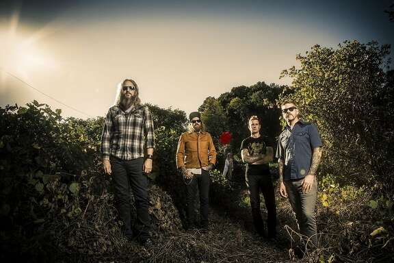 Mastodon performs at the Warfield on April 18, 2017.
