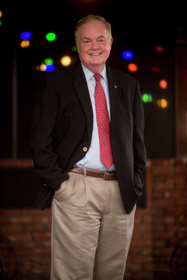 Railroad Commissioner Wayne Christian, on Thursday March 16, 2016, before attending a Gregg County GOP meeting at the Jalapeno Tree Mexican Restaurant in Longview. (Michael Cavazos/Photo)
