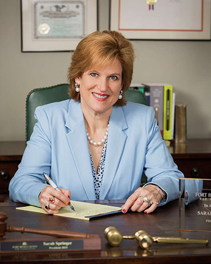 Sarah Springer will speak at the April 25 Katy Bar Association luncheon. Photo: Katy Bar Association
