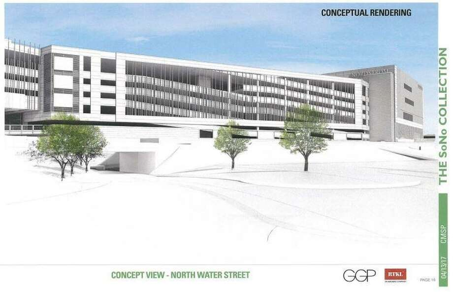 New renderings of The SoNo Collection sans hotel. Photo: Contributed Rendering / General Growth Properties