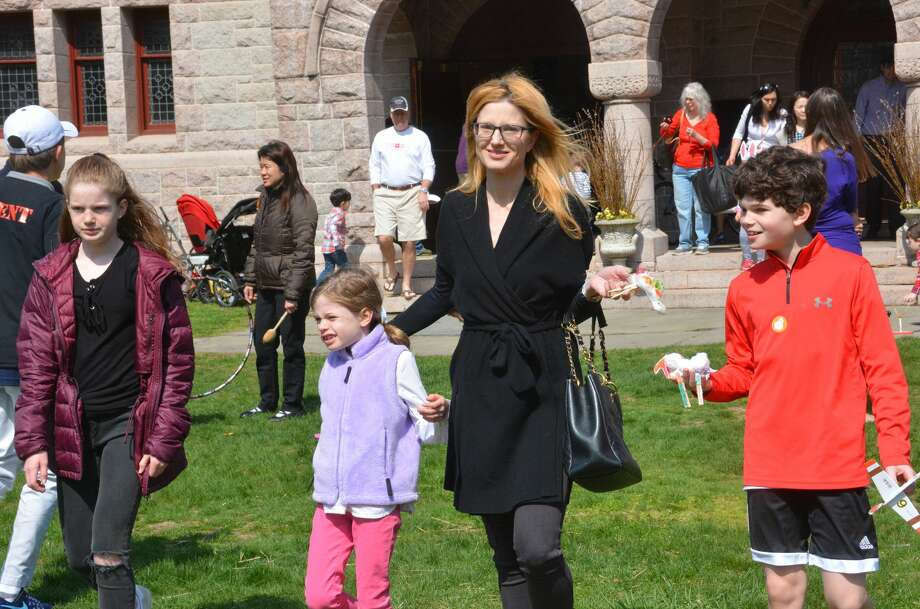 The annual Pequot Library Easter Egg Roll in Southport will take place Saturday on the Great Lawn. Find out more. Photo: Vic Eng / Hearst Connecticut Media Group