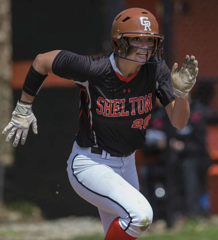 Shelton High School against Fairfield Warde High School during a softball game played at Shelton High School, Shelton, CT. Saturday, April 15, 2017. Photo: Mark Conrad / For Hearst Connecticut Media / Connecticut Post Freelance