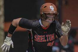 Shelton High School against Fairfield Warde High School during a softball game played at Shelton High School, Shelton, CT. Saturday, April 15, 2017.