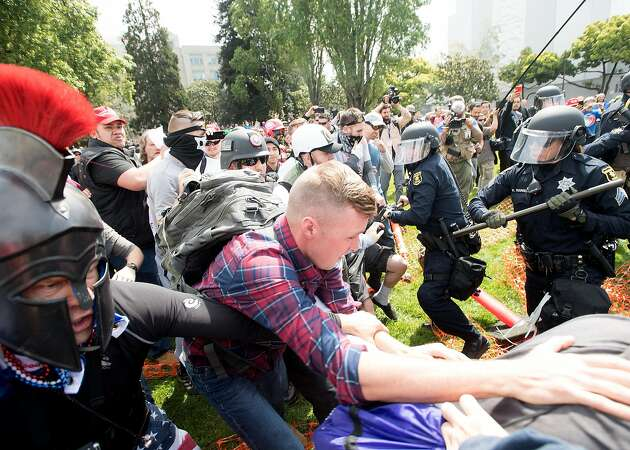 Berkeley police get flak for hands-off approach to protest mayhem
