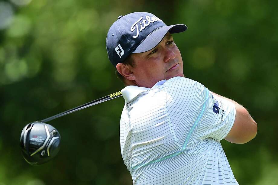 HILTON HEAD ISLAND, SC - APRIL 15:  Jason Dufner plays his tee shot on the fifth hole during the third round of the 2017 RBC Heritage at Harbour Town Golf Links on April 15, 2017 in Hilton Head Island, South Carolina.  (Photo by Jared C. Tilton/Getty Images) Photo: Jared C. Tilton, Stringer / 2017 Getty Images