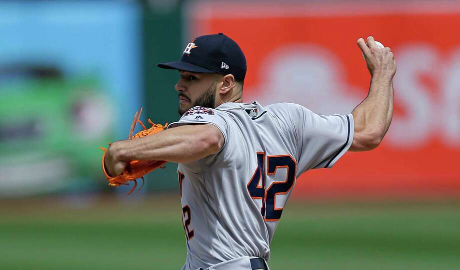 Lance McCullers takes the mound for the series opener vs. the Rangers on Monday with a 2.08 ERA in 23 career regular-season outings at Minute Maid Park. Photo: Ben Margot, Associated Press / Copyright 2017 The Associated Press. All rights reserved.