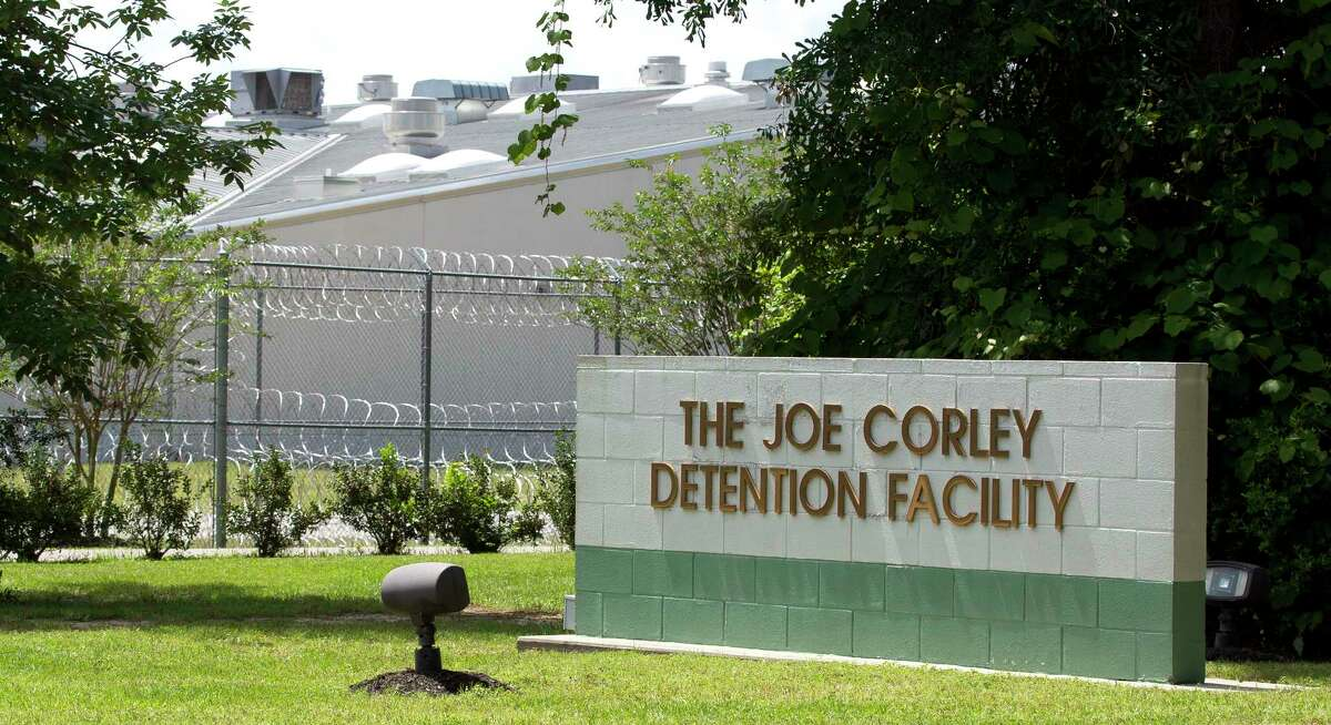 The Joe Corley Detention Center is seen on Hilbig Road, Friday, April 14, 2017, in Conroe.