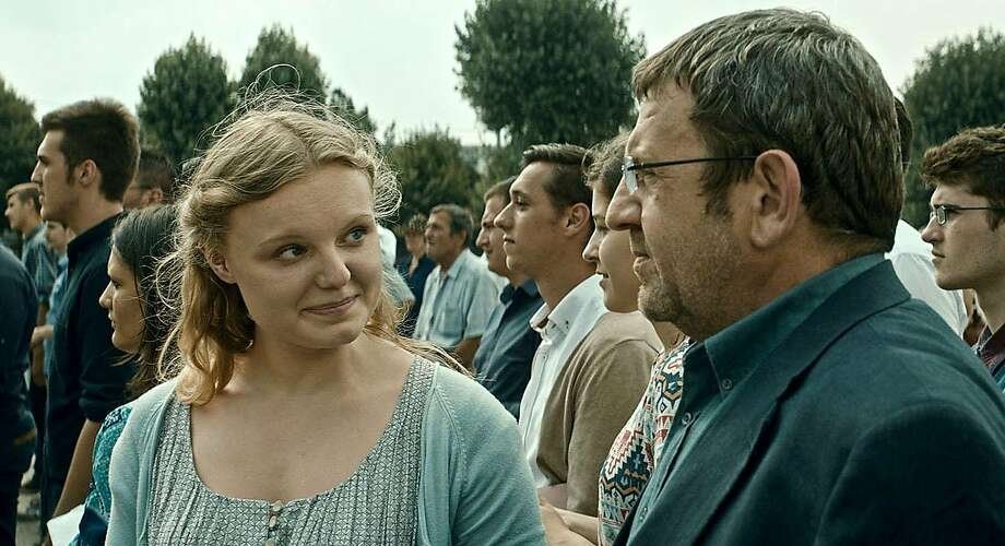 Maria-Victoria Dragus and Adrian Titieni star in Cristian Mungiu's small but powerful story. Photo: Sundance Selects