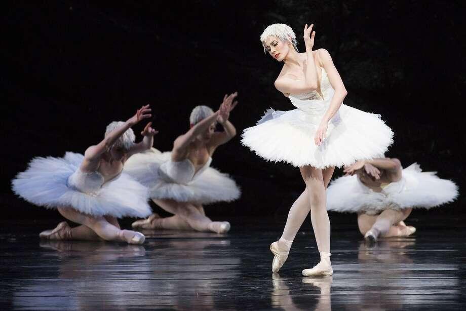 "Vanessa Zahorian performs during San Francisco Ballet's ""Swan Lake"" at the War Memorial Opera House on Saturday, April 15, 2017, in San Francisco, Calif. Photo: Santiago Mejia, The Chronicle"