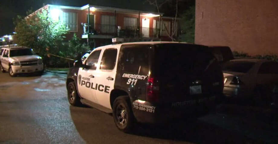 A man is dead after an overnight shooting at an apartment complex. Photo: Metro Video
