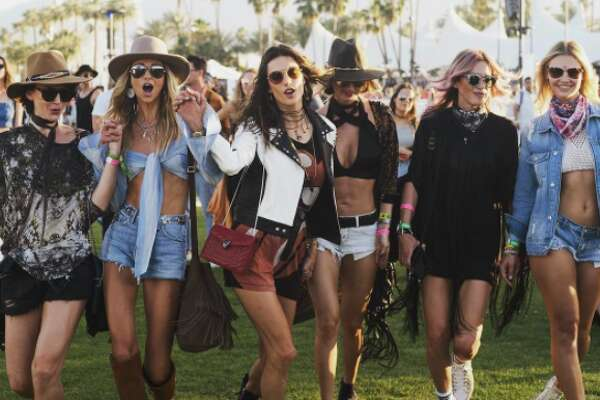 Celebrities posted pictures of themselves at Coachella on Instagram.