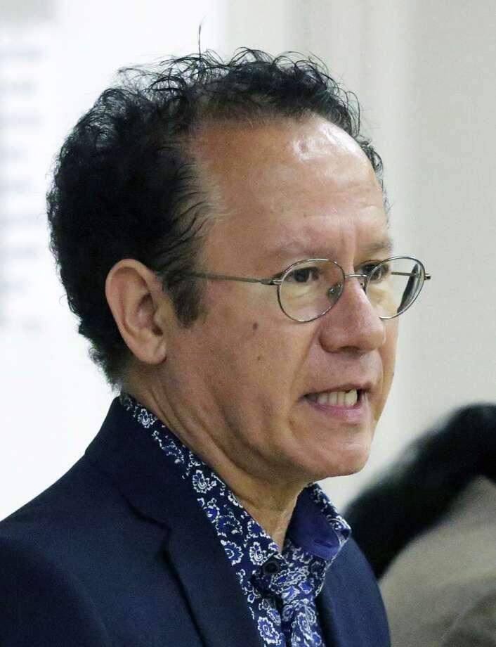 John Velasquez, candidate for mayor of San Antonio Photo: Tom Reel /San Antonio Express-News / 2017 SAN ANTONIO EXPRESS-NEWS