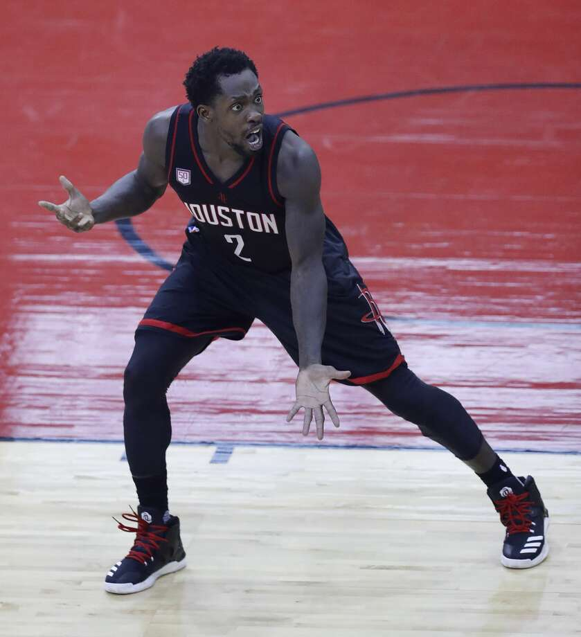 Mr. 94 Feet and The Wolverine Beverley had the coolest nicknames on the team. The Beard is good, but it doesn't beat Mr. 94 Feet and The Wolverine. And the names fit with Beverley's full-court ferociousness all over the floor. Photo: Mark Mulligan/Mark Mulligan / Houston Chronicle