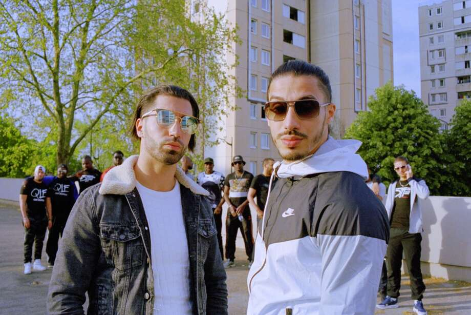 The two brothers in French rap duo PNL: Tarik and Nabil Andrieu. Photo: PNL