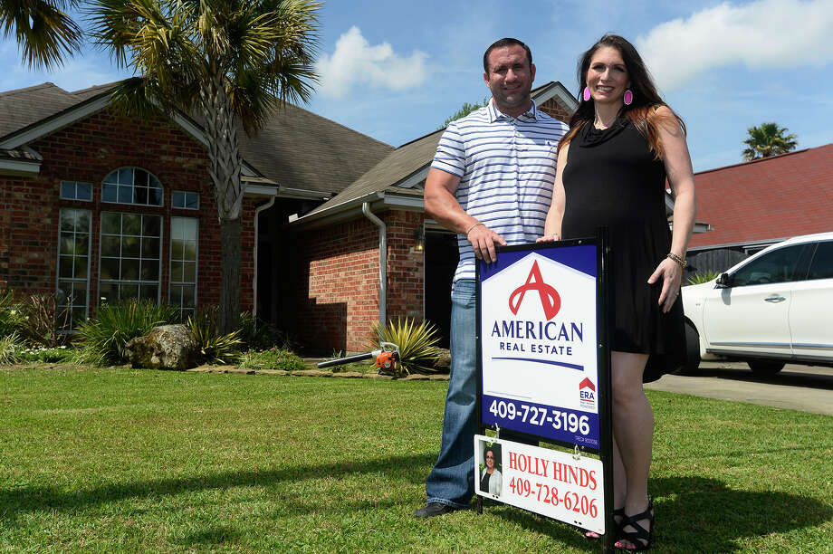 Amanda and Lance Dejohn have sold their home in Nederland to take advantage of a seller's market. Photo taken Thursday 4/13/17 Ryan Pelham/The Enterprise Photo: Ryan Pelham, Ryan Pelham/The Enterprise / ©2017 The Beaumont Enterprise/Ryan Pelham