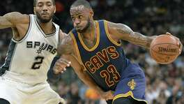 The Cavs' LeBron James can't relate to Spurs star Kawhi Leonard.