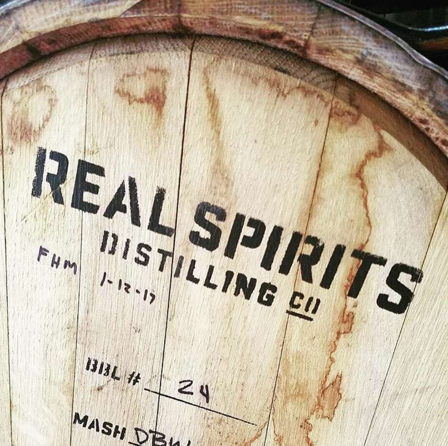 Real Ale Distilling Co. debuted in April 2017. The distillery is part of Real Ale Brewing Co. of Blanco, Texas. Davin Topel is the distiller. Photo: Real Ale Brewing Co.