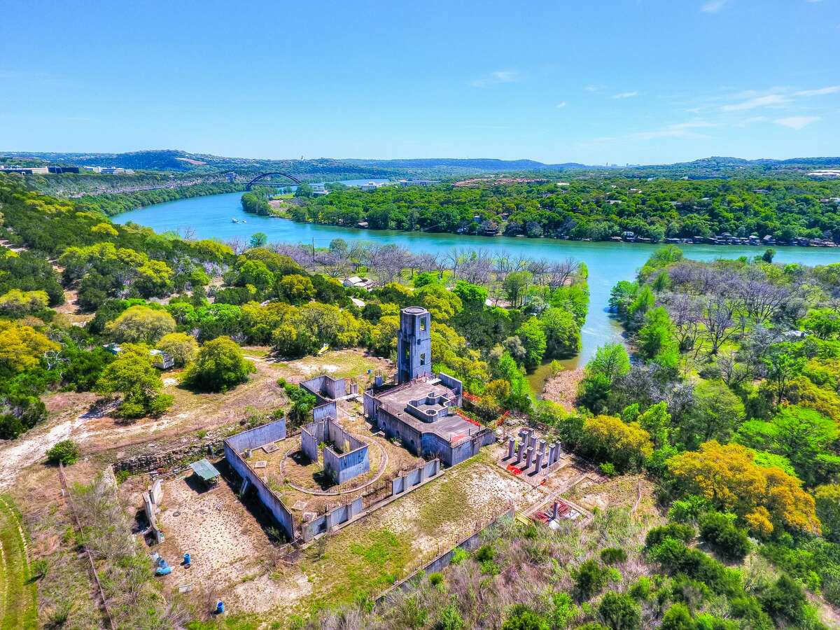 Lake Austin Ranch, a 65-acre property along Lake Austin owned by video game developer Richard Garriott, is for sale for $45 million. The property includes a site for a 25,000-square-foot house, a guest house, 300-seat theater and a private marina. (Photos: Shutterbug Studios, Austin)