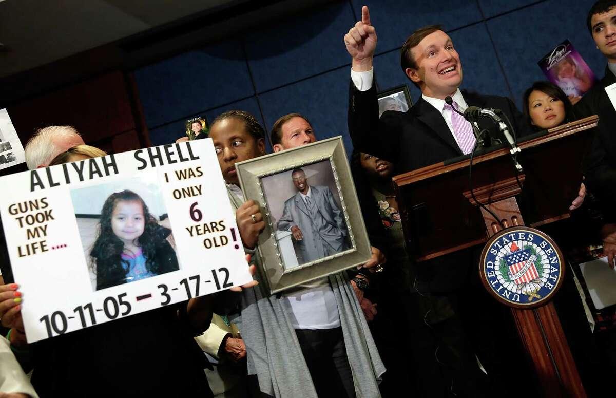 U.S. Sen. Chris Murphy, D-Conn., has been at the forefront of gun reform legislation.
