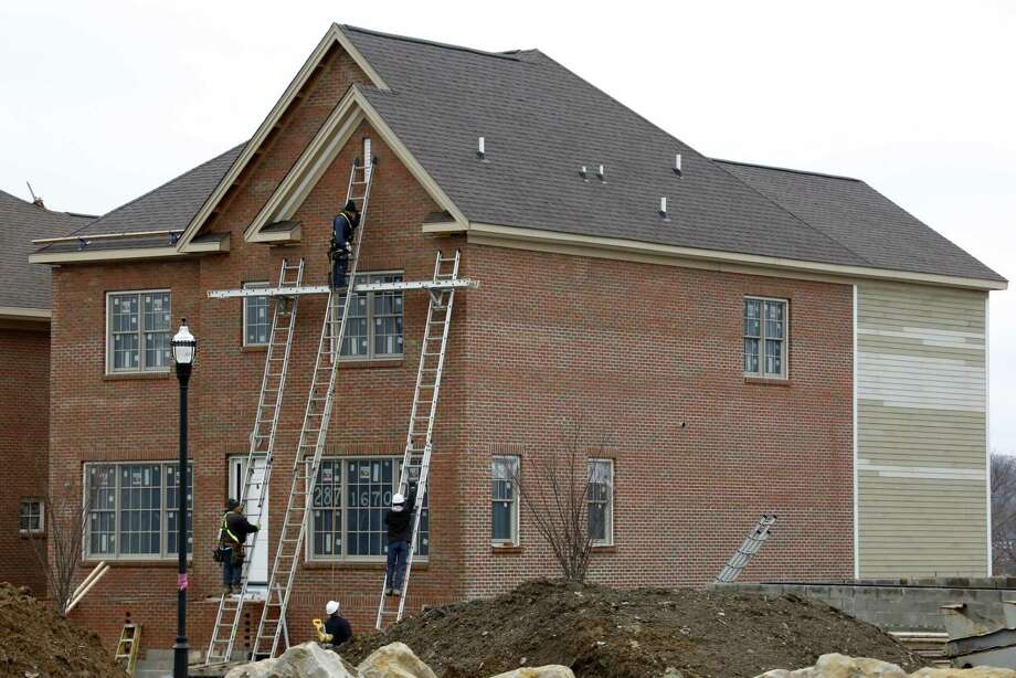 The National Association of Home Builders/Wells Fargo builder sentiment index slipped to 68 for the month. That's down three points from 71 in March, when it jumped to the highest level since June 2005. Photo: Gene J. Puskar /Associated Press / Copyright 2017 The Associated Press. All rights reserved.