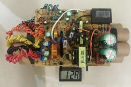 U.S. customs officials have released a photo of a mock improvised explosive device that led to delays at Toronto's Pearson International Airport when it was found in a passenger's luggage this month.