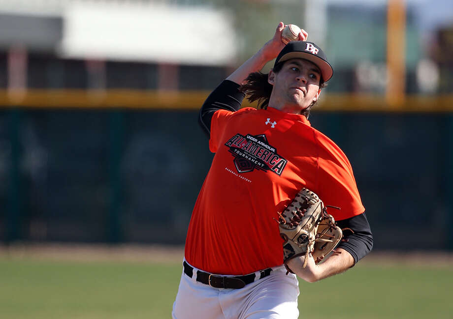Clements baseball player Jack Conlon was picked by the Orioles Tuesday in the fourth round of the MLB Draft. Photo: Bill Mitchell/Baseball America