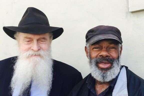 Rabbi and Marvin on Sixth Street