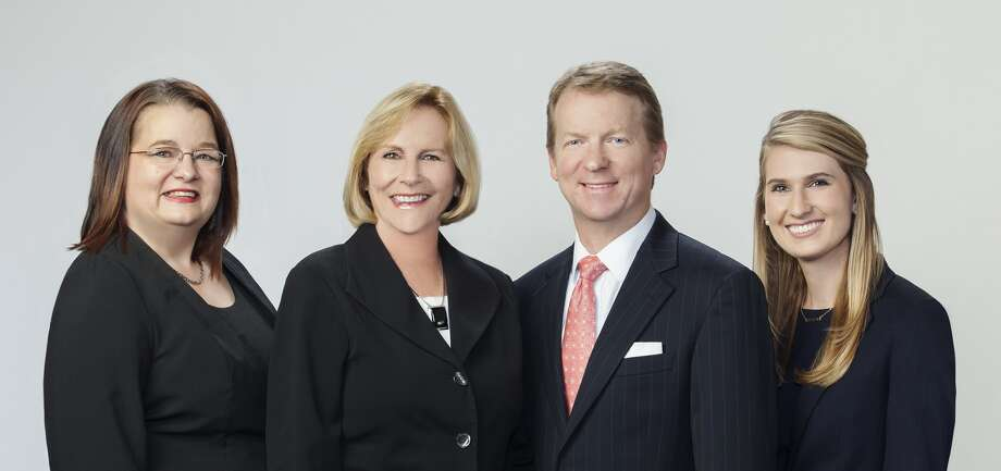 JLL dispositions team: Chelle Smith (administrative assistant), Donna Kolius (executive vice president), Pierce Owens (senior vice president), Kaylie Walker (Associate). Photo: JLL