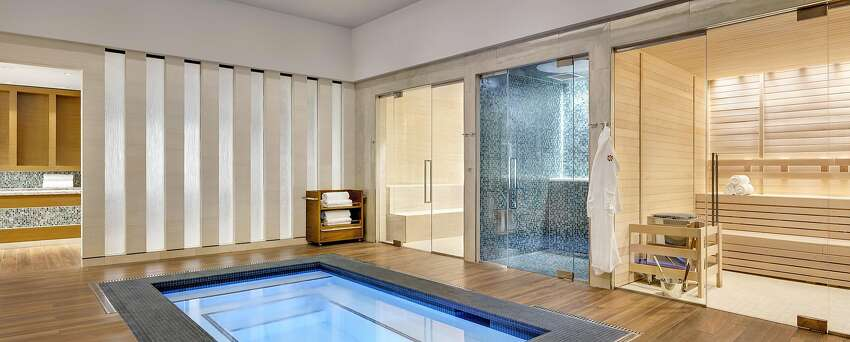 The new spa at Graton Resort and Casino includes separate mens and womens areas with saunas, steam rooms, aromatherapy ice baths and whirlpools.
