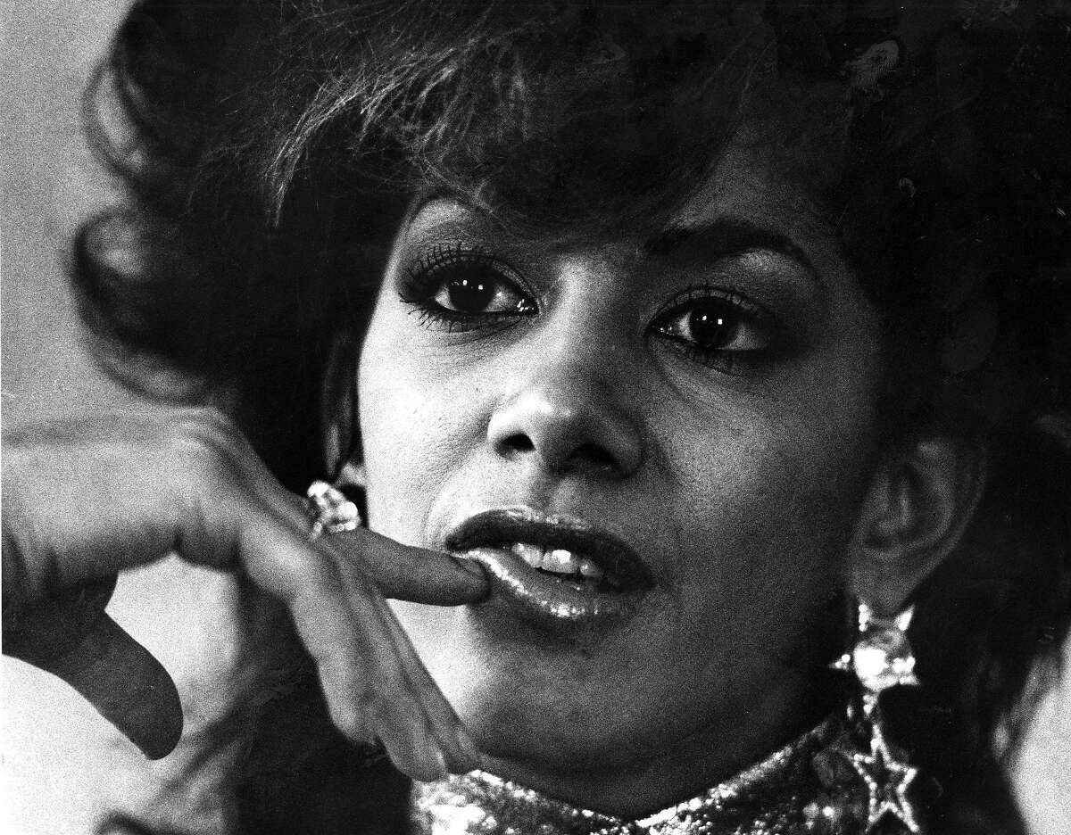 Singer Sheila E, ie Sheila Escovedo February 21, 1986 Photo ran 2/2/1986, P. 19 (batch 1)