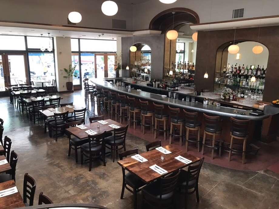 Pompette's new dining area. Photo via Pompette.