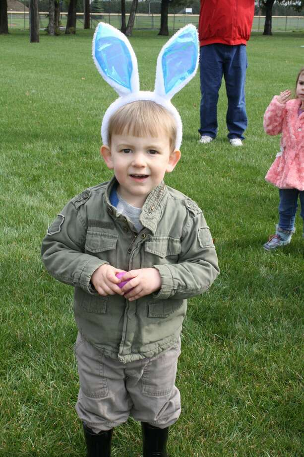 The Pigeon Chamber of Commerce sponsored Saturday's Easter egg hunt in Pigeon. Photo: Easter In Pigeon