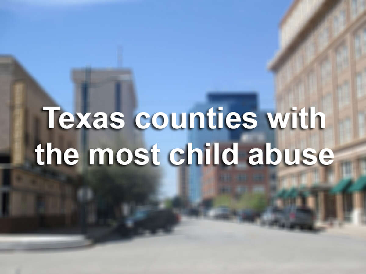 Keep clicking to see the Texas counties with the most child abuse cases, according to the Texas Department of Family and Protective Services.
