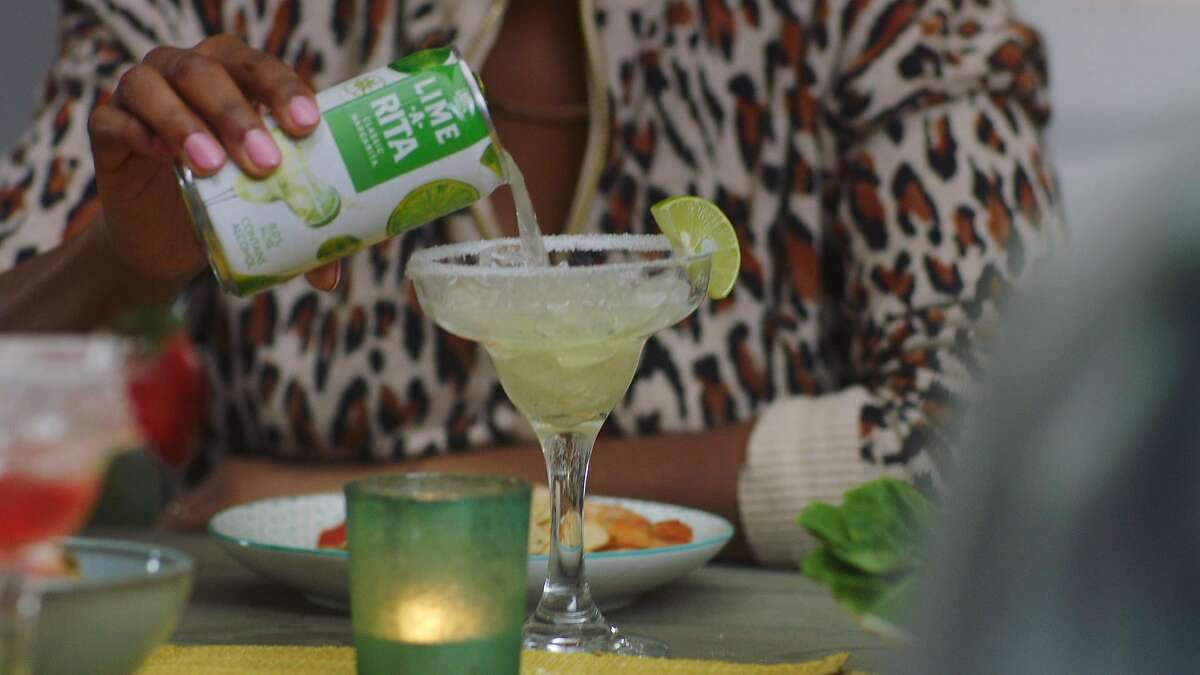 """Anheuser-Busch�rebrands their Budweiser's Lime-A-Rita beverages with a female-centric TV ad campaign called """"Make it a Margarita Moment."""""""
