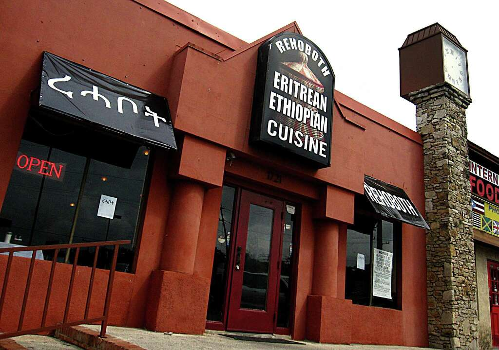 Rehoboth Eritrean-Ethiopian Cuisine on Babcock Road. Photo: Mike Sutter /San Antonio Express-News