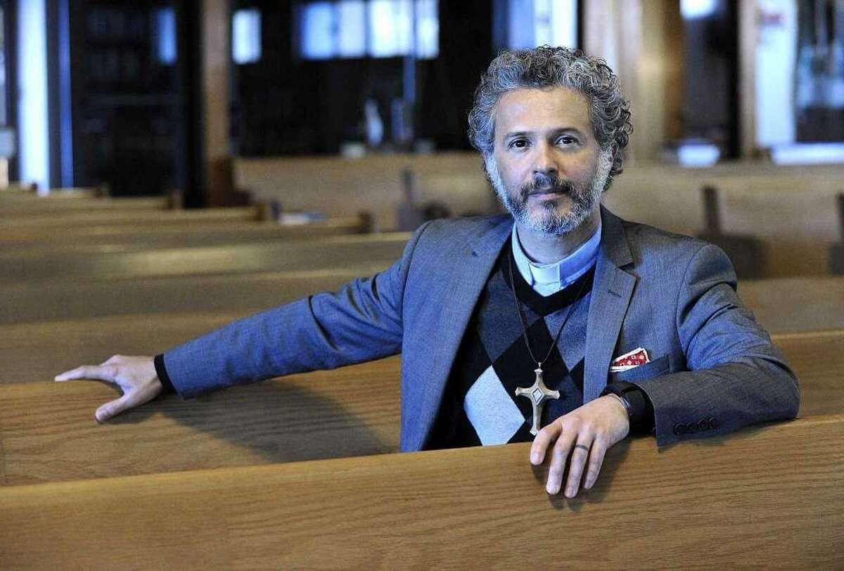 The Rev. Alex da Silva Souto, pastor of the New Milford United Methodist Church, told his congregation last May he is gay.