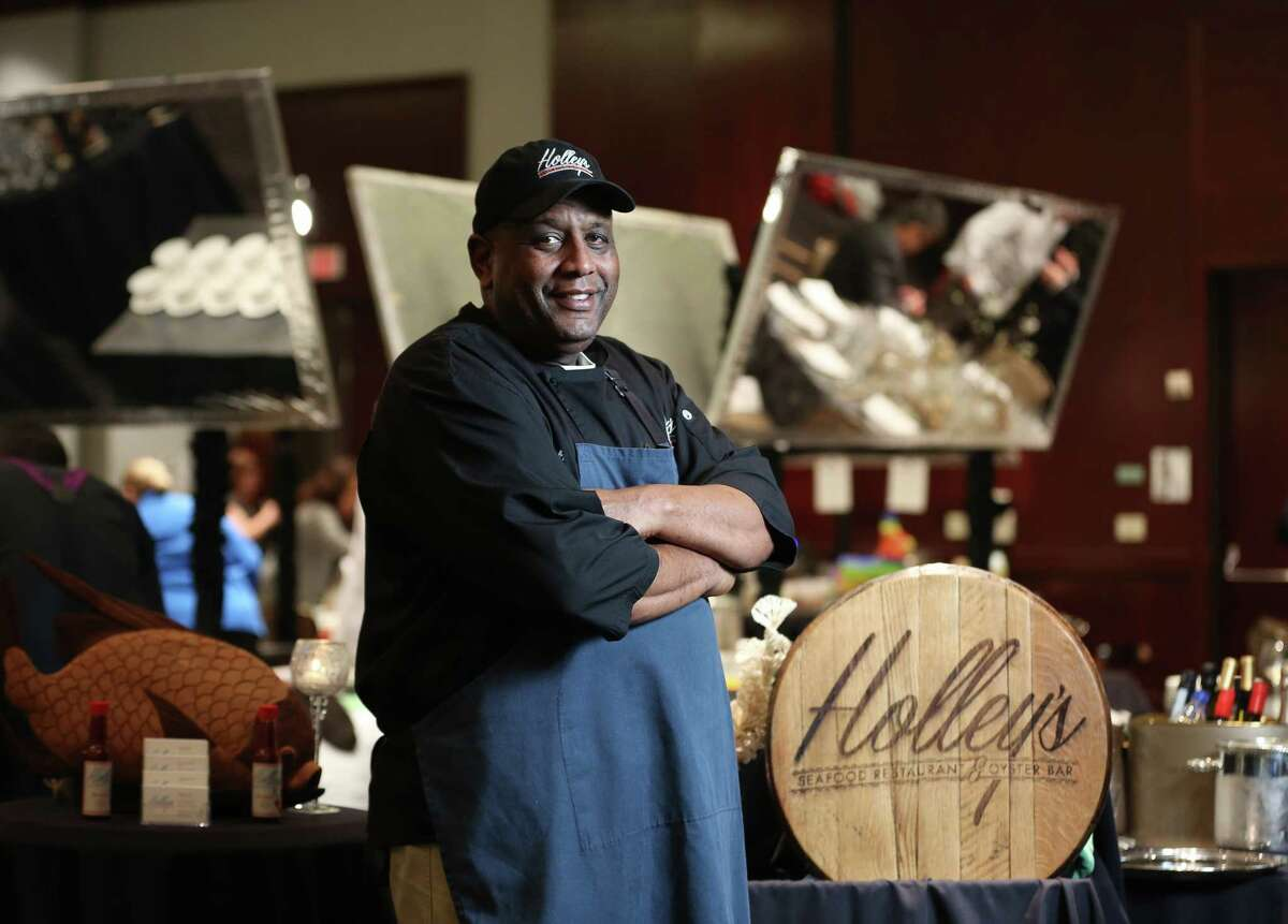 Chef Mark Holley of Holley's Seafood Restaurant & Oyster Bar.