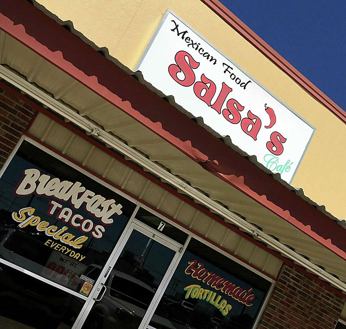 Salsa's Cafe on FM 78 in Converse.