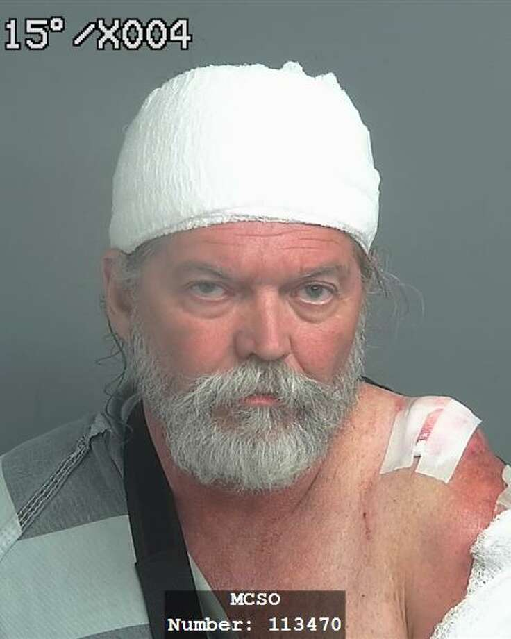 Johnny King, 58, is facing a third-degree felony intoxicated assault charge for the crash that hospitalized a female passenger on the bike with a broken knee. The crash happened on Texas 242 near U.S. 59 around 5:30 p.m. Sunday.Click to see mug shots from other Montgomery County DWI arrests over Easter weekend. Photo: MCSO