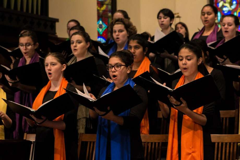 The Children's Chorus of San Antonio, which maintains a busy performance schedule, is getting a new artistic director this summer. Photo: Courtesy Darian Thomas /Courtesy Darian Thomas