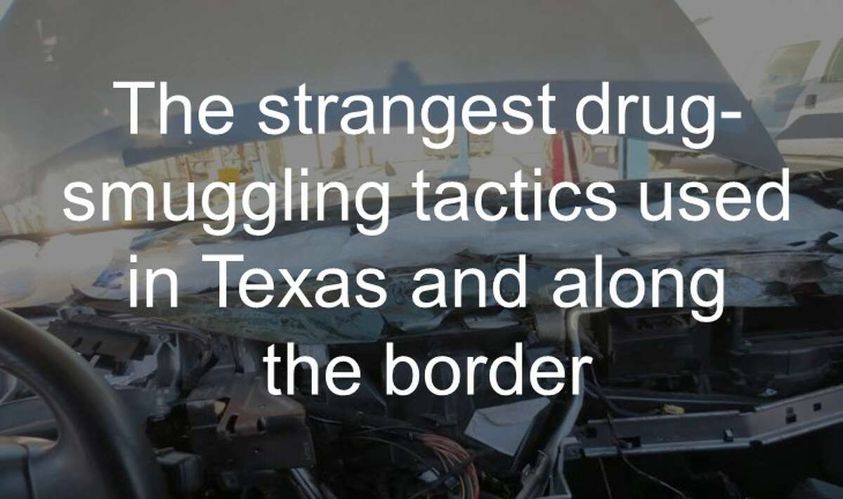 The strangest drug-smuggling tactics used in Texas and along the border