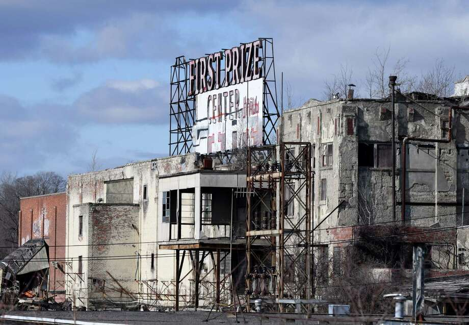 Former Tobin First Prize plant on Monday, Jan. 30, 2017, on Exchange in Albany, N.Y. (Will Waldron/Times Union) Photo: Will Waldron