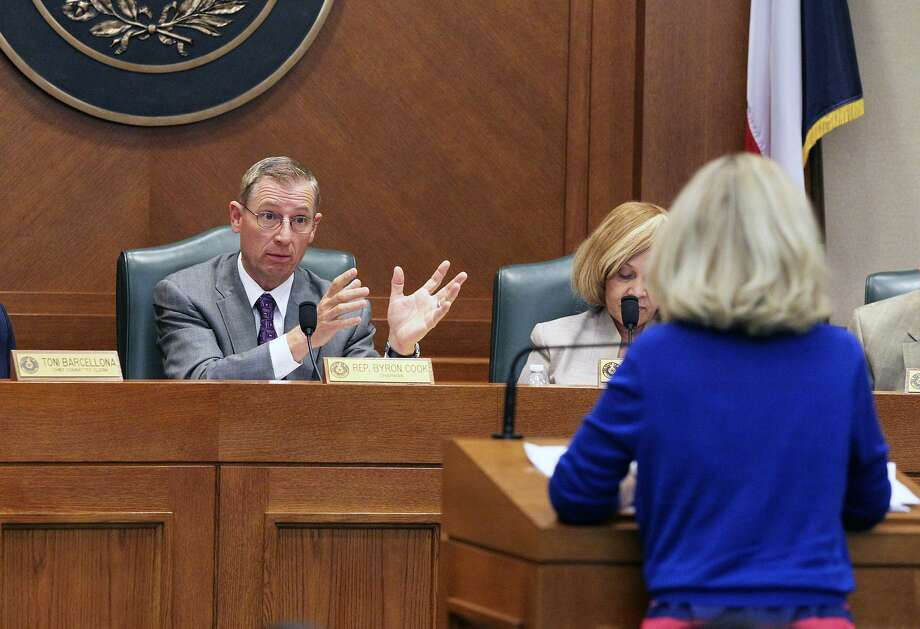 As tea party activists put pressure on House members to pass their priority bills, State Affairs Committee chairman Byron Cook R-Corsicana, shown here in 2013, said House members have a responsibility to ensure bills are constitutional. Photo: TOM REEL /