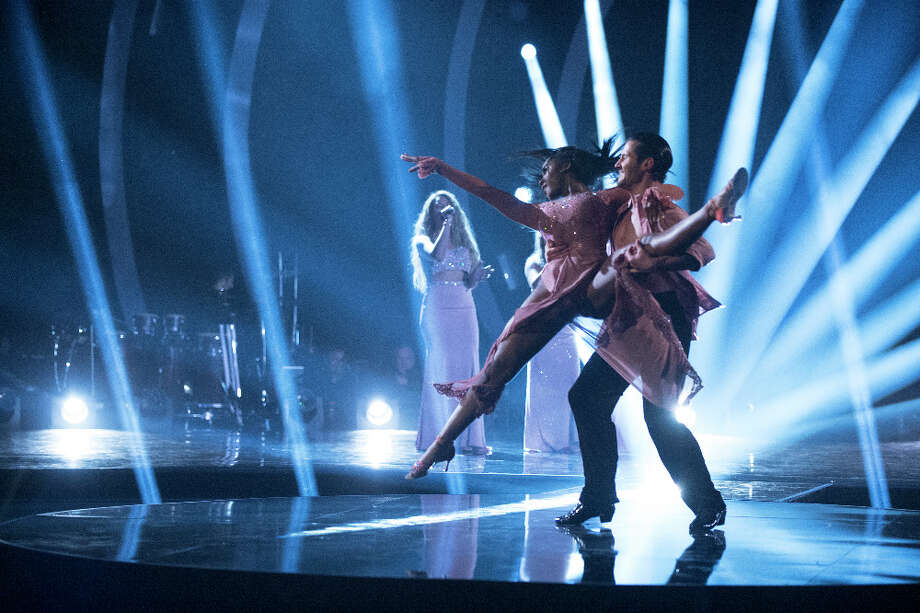 Normani Kordei and partner Val Chmerkovskiy pay tribute to her most memorable year on 'Dancing with the Stars.' Photo: ABC / © 2017 American Broadcasting Companies, Inc. All rights reserved.